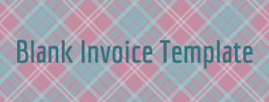 blank invoice template